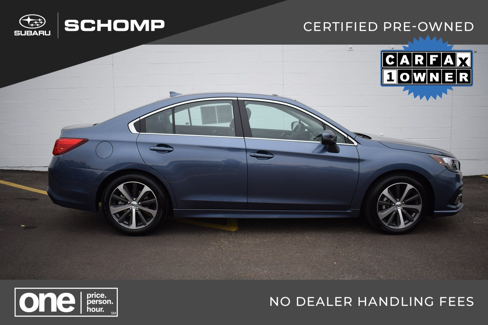 Certified Pre-Owned 2018 Subaru Legacy Limited