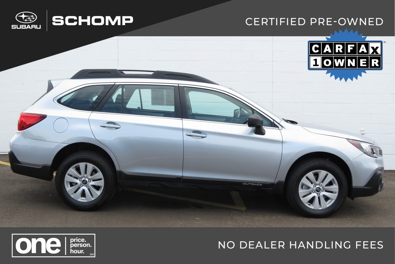Certified Pre-Owned 2018 Subaru Outback