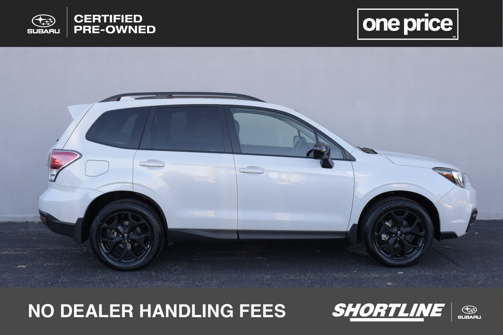 Certified Pre Owned 2018 Subaru Forester Premium Black Edition W