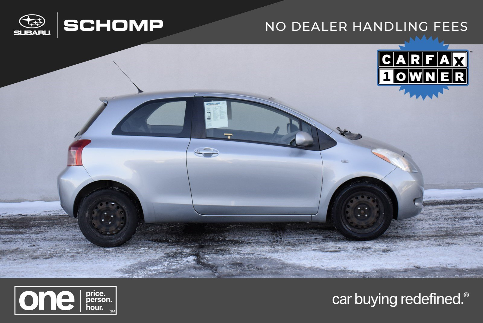 Pre-Owned 2008 Toyota Yaris S