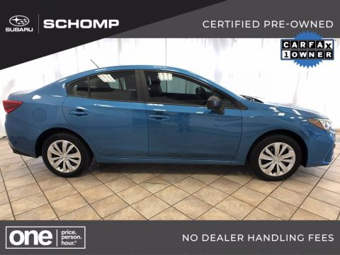 Certified Pre-Owned 2019 Subaru Impreza AWD