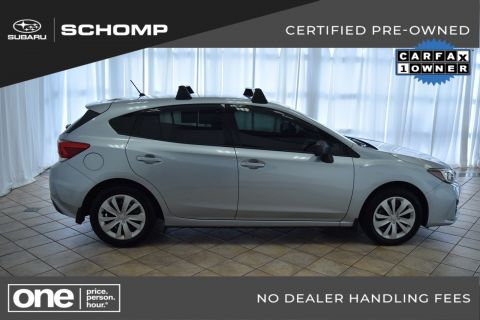 Certified Pre-Owned 2017 Subaru Impreza AWD
