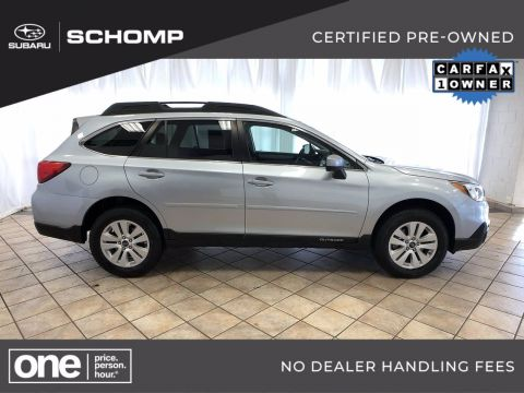 Certified Pre-Owned 2017 Subaru Outback Premium AWD