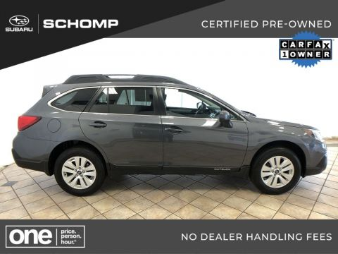 Certified Pre-Owned 2018 Subaru Outback Premium AWD