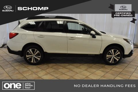 Certified Pre-Owned 2018 Subaru Outback Limited AWD