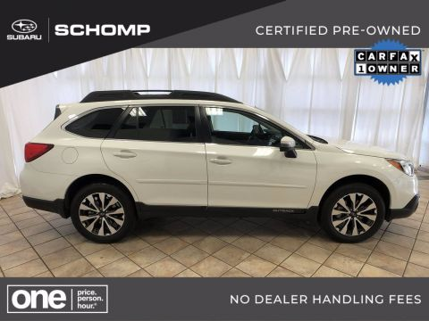 Certified Pre-Owned 2017 Subaru Outback Limited AWD