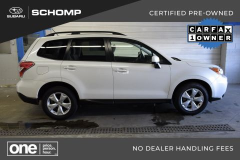 Certified Pre-Owned 2015 Subaru Forester 2.5i Premium