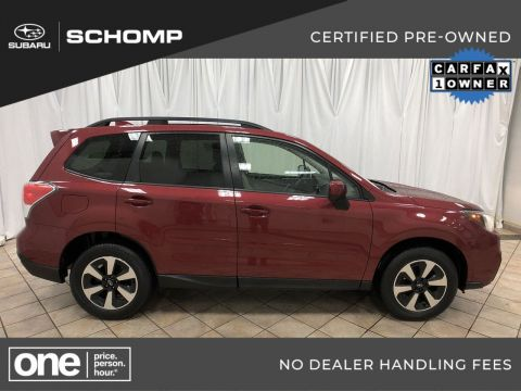 Certified Pre-Owned 2017 Subaru Forester Premium AWD